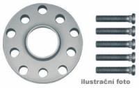 HR podložky pod kola (1pár) CHRYSLER Cruiser PT rozteč 100mm 5 otvorů stř.náboj 57,1mm -šířka 1podložky 5mm  /sada obsahuje montážní materiál (šrouby, matice)