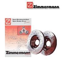 Zimmermann přední sportovní brzdové kotouče -vzduchem chlazené CHRYSLER VOYAGER III (RG)  -motor 3.3, 3.3  AWD -- rok výroby 02.00- (155.3903.50)